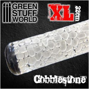 Green Stuff World   Rolling Pins MEGA Rolling Pin COBBLESTONE - 8436554364770ES - 8436554364770