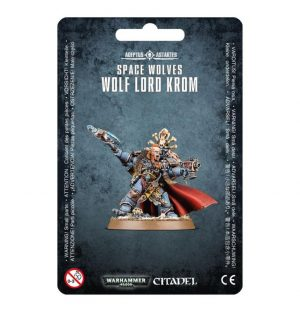 Games Workshop (Direct) Warhammer 40,000  Space Wolves Space Wolves Wolf Lord Krom - 99070101020 - 5011921069286