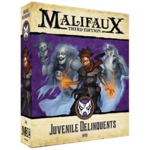 Wyrd Malifaux  Neverborn Neverborn Juvenile Delinquents - WYR23408 - 812152032491