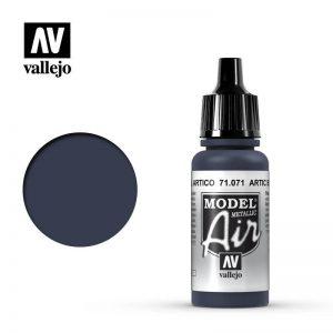 Vallejo   Model Air Model Air: Arctic Blue (Metallic) - VAL071 - 8429551710718