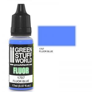 Green Stuff World   Fluorescent Paints Fluor Paint BLUE - 8436574500660ES - 8436574500660