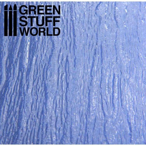 Green Stuff World   Plasticard River Water Textured Plasticard Sheet - 8436554363933ES - 8436554363933