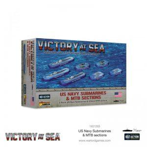 Warlord Games Victory at Sea  Victory at Sea Victory at Sea: US Navy Submarines & MTB sections - 743212005 - 5060572506824