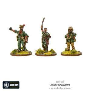 Warlord Games Bolt Action  Great Britain (BA) Chindit Characters - 403011209 - 5060393708377