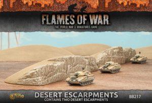 Gale Force Nine   Battlefield in a Box Flames of War: Desert Escarpments - BB217 - 9420020234857