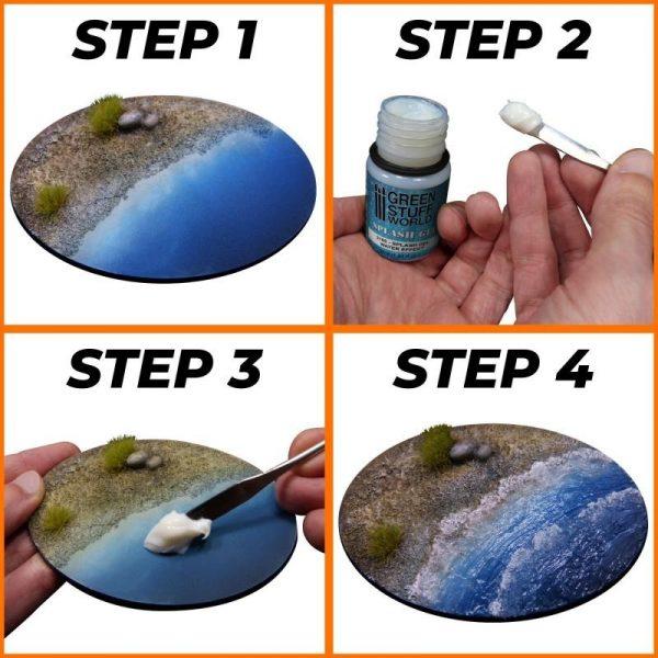 Green Stuff World   Specialist Paints Splash Gel - Water Effect - 8436574505443ES - 8436574505443