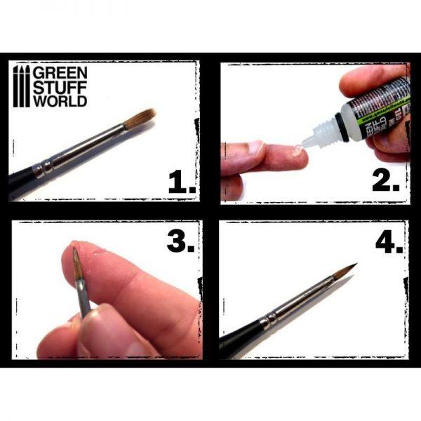 Green Stuff World   Brush Care Green Stuff World Brush Repair Gel - 8436554368280ES - 8436554368280