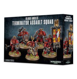 Games Workshop (Direct) Warhammer 40,000  Blood Angels Blood Angels Terminator Assault Squad - 99120101123 - 5011921056880