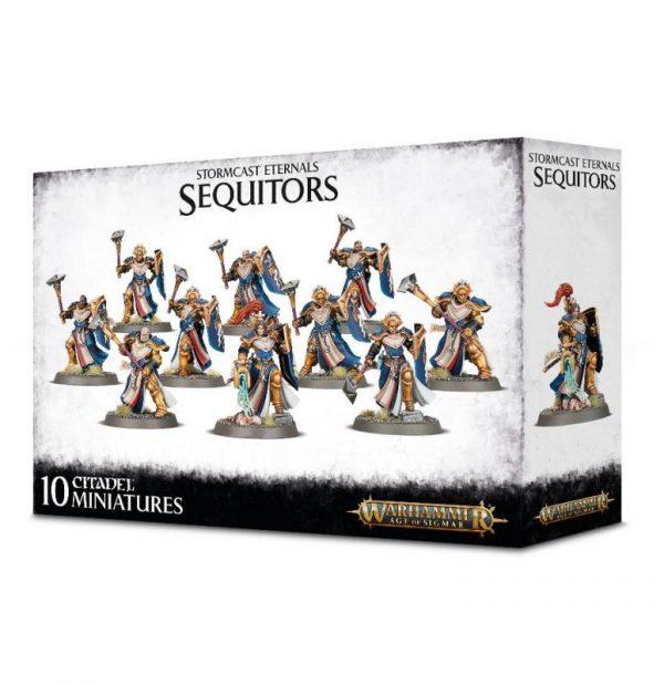 Games Workshop Age of Sigmar  Stormcast Eternals Stormcast Eternals Sequitors - 99120218071 - 5011921165391