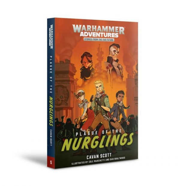 Games Workshop   Warhammer 40000 Books Plague of the Nurglings: Book 5 (softback) - 60100181762 - 9781789990362