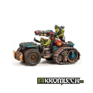 Kromlech   Vehicles & Vehicle Parts Orc Halftrack with Flamer - KRVB012 - 5902216111202
