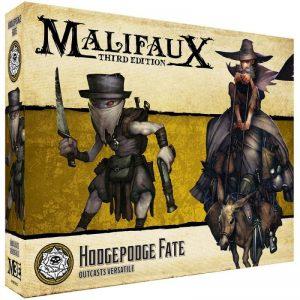 Wyrd Malifaux  Outcasts Hodgepodge Fate - WYR23525 - 812152030909
