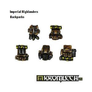 Kromlech   Imperial Guard Conversion Parts Imperial Highlander Backpacks (10) - KRCB101 - 5902216110991