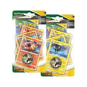 Pokemon Pokemon - Trading Card Game  Pokemon Pokemon TCG: Sword & Shield 7 Evolving Skies Premium Checklane Blister - POK80885 - 820650808852