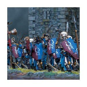 Mantic Kings of War  Undead Undead Skeleton Horde - MGKWU44-1 - 5060208865189