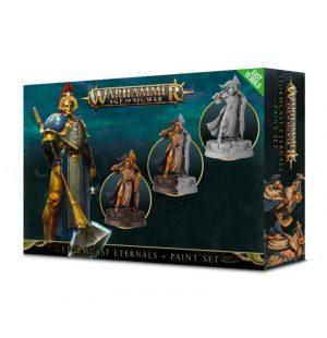 Games Workshop Age of Sigmar  Stormcast Eternals Stormcast Eternals Paint Set - 99170218003 - 5011921102549