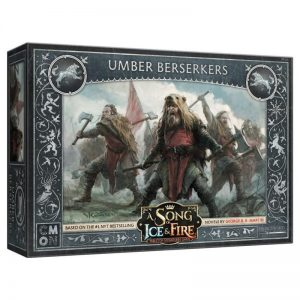 Cool Mini or Not A Song of Ice and Fire  House Stark A Song of Ice and Fire: Umber Berserkers - CMNSIF103 - 889696005588