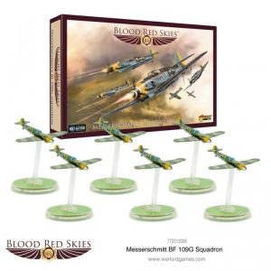 Warlord Games Blood Red Skies  Blood Red Skies Blood Red Skies: Messerschmitt Bf 109G Squadron - 772212006 - 5060572501553
