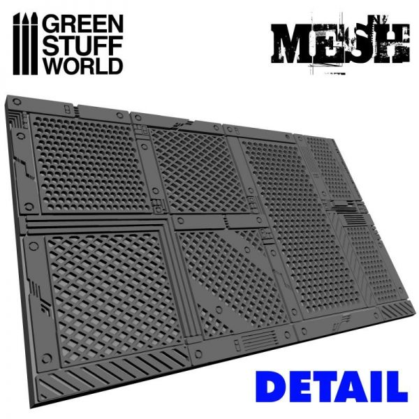 Green Stuff World   Rolling Pins Rolling Pin MESH - 8436554364213ES - 8436554364213