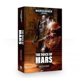Games Workshop   Warhammer 40000 Books The Voice of Mars (hardback) - 60040181306 - 9781784966881