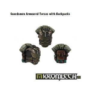 Kromlech   Imperial Guard Conversion Parts Armoured Torsos with Backpacks (5+5) - KRCB020 - 5902216110182