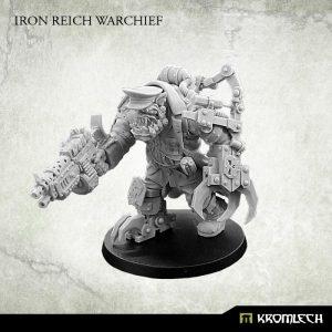 Kromlech   Orc Model Kits Iron Reich Warchief (1) - KRM132 - 5902216115682