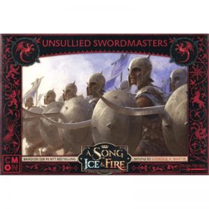 Cool Mini or Not A Song of Ice and Fire  House Targaryen A Song of Ice and Fire: Targaryen Unsullied Swordmasters - CMNSIF607 - 889696008886