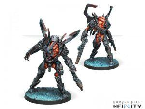 Corvus Belli Infinity  Combined Army Xeodron Batroids - 280677-0588 - 2806770005881