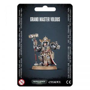Games Workshop Warhammer 40,000  Grey Knights Grey Knights Master Voldus (2021) - 99070107002 - 5011921153749