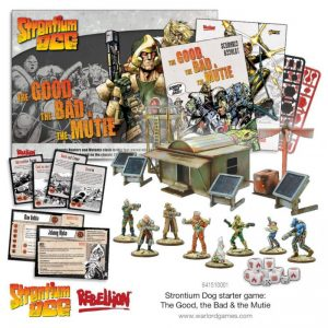 Warlord Games Strontium Dog  Strontium Dog Strontium Dog: The Good the Bad & the Mutie Start Game - 649910002 - 5060572500730