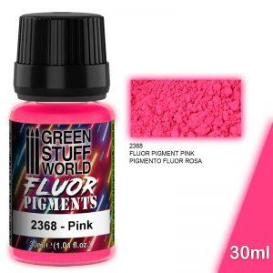 Green Stuff World   Fluorescent Pigments Pigment FLUOR PINK - 8436574507270ES - 8436574507270