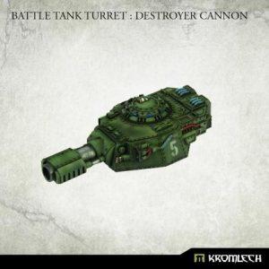 Kromlech   Imperial Guard Conversion Parts Battle Tank Turret: Destroyer Cannon (1) - KRVB093 - 5902216119833
