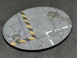 Baker Bases   Concrete Concrete: 120mm Oval Base (1) - CB-CN-01-120 - CB-CN-01-120