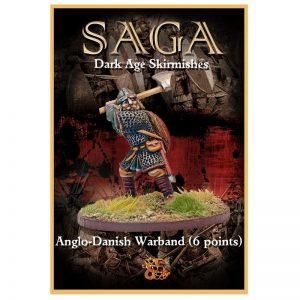 Gripping Beast SAGA  SAGA Anglo-Danish Warband (6 points) - SSB18 -