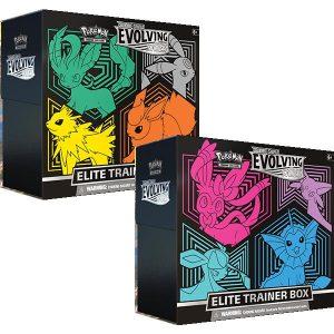 Pokemon Pokemon - Trading Card Game  Pokemon Pokemon TCG: Sword & Shield 7 Evolving Skies Elite Trainer Box - POK80894 - 820650808944
