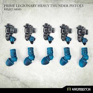 Kromlech   Legionary Conversion Parts Prime Legionaries CCW Arms: Heavy Thunder Pistols [right] (5) - KRCB276 - 5908291070984
