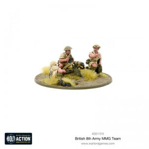 Warlord Games Bolt Action  Great Britain (BA) 8th Army MMG Team - 403011010 - 5060572500976