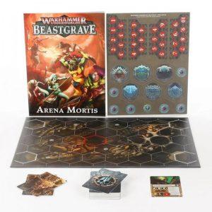 Games Workshop Warhammer Underworlds  Warhammer Underworlds Warhammer Underworlds: Beastgrave – Arena Mortis (Deutsch) - 04220799017 - 5011921144877