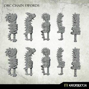 Kromlech   Orc Conversion Parts Orc Chain Swords (10) - KRCB226 - 5902216117457