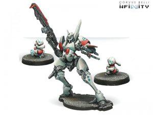 Corvus Belli Infinity  Non-Aligned Armies - NA2 O-Yoroi Kidobutai (TAG) - 280351-0305 - 2803510003053