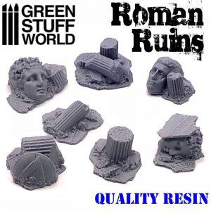 Green Stuff World   Green Stuff World Conversion Parts Roman Ruins - 8436574502794ES - 8436574502794