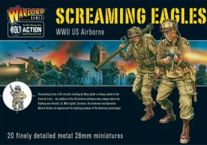 Warlord Games Bolt Action  United States of America (BA) US Airborne - Screaming Eagles (21) - WGB-AA-01 -
