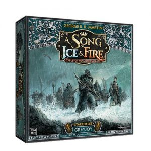 Cool Mini or Not A Song of Ice and Fire  House Greyjoy A Song of Ice and Fire: Greyjoy Starter Set - CMNSIF009 - 889696010964