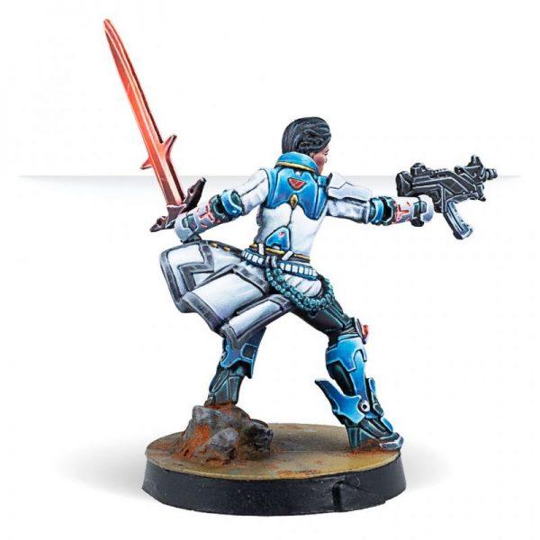 Corvus Belli Infinity  O-12 Shona Carano, Aristeia! Swordmaster (Submachine gun) - 282013-0875 - 2820130008756