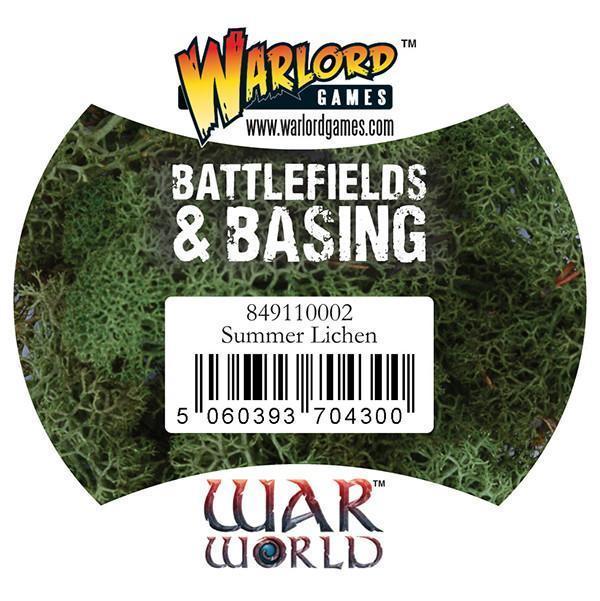 Warlord Games   Lichen & Foliage Warlord Scenics: Summer Lichen - 849110002 - 5060393704300
