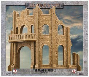 Gale Force Nine   Battlefield in a Box Gothic Battlefields - The Grand Vestibule - Sandstone - BB615 - 9420020248946