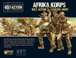 Warlord Games Bolt Action  Germany (BA) Afrika Korps Starter set - 402612001 - 5060572501201