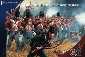 Perry Miniatures   Perry Miniatures British Napoleonic Infantry 1808-1815 - BH1 - BH1