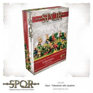 Warlord Games SPQR  SPQR SPQR: Gaul Tribesmen with Javelins - 152214005 - 5060572504509