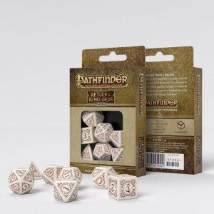Q-Workshop   Q-Workshop Dice Pathfinder Return of the Runelords Dice Set (7) - SPAT1K - 5907699494002